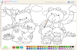 Free coloring game 1