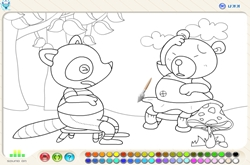 Coloring game for childre